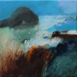 """Passage Through"" - Oil on Canvas 20 x 20 cm"