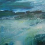 """Take a Deep Breath"" - Oil on Canvas, 70 x 70 cm"