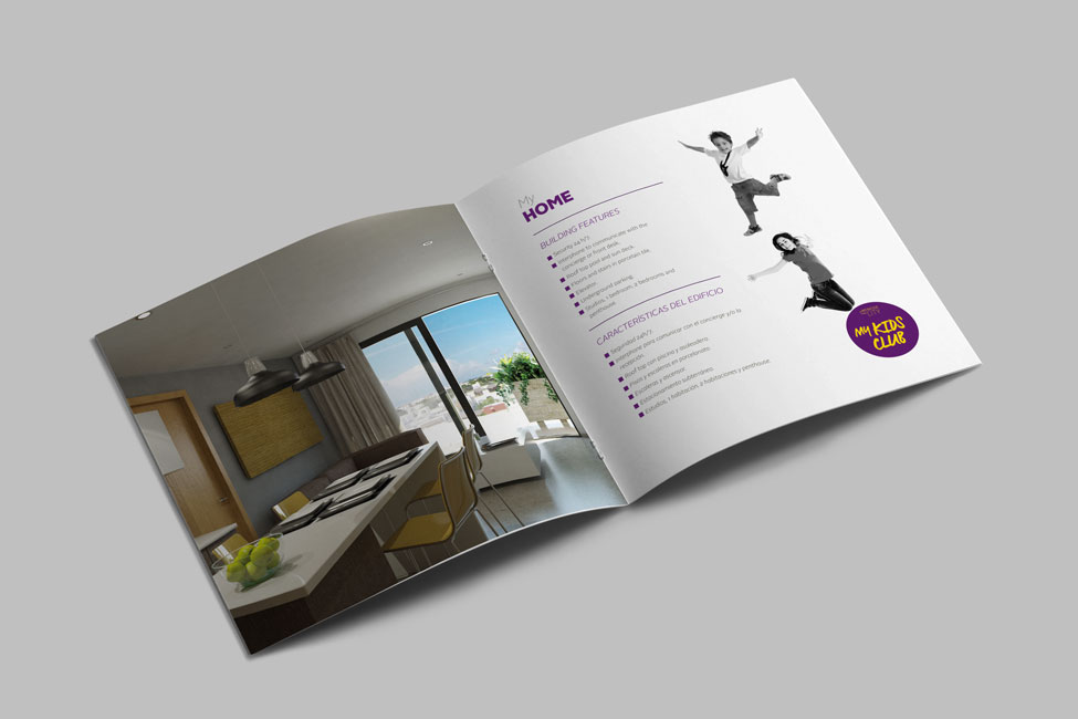 The City - Brochure interior