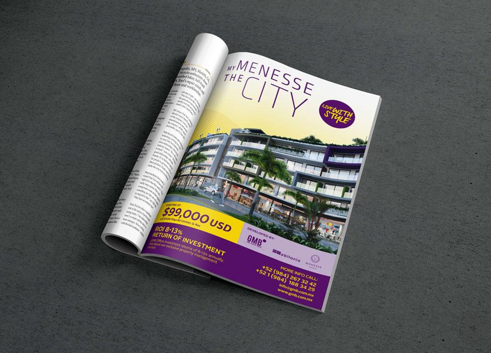 The City - Anuncio de revista