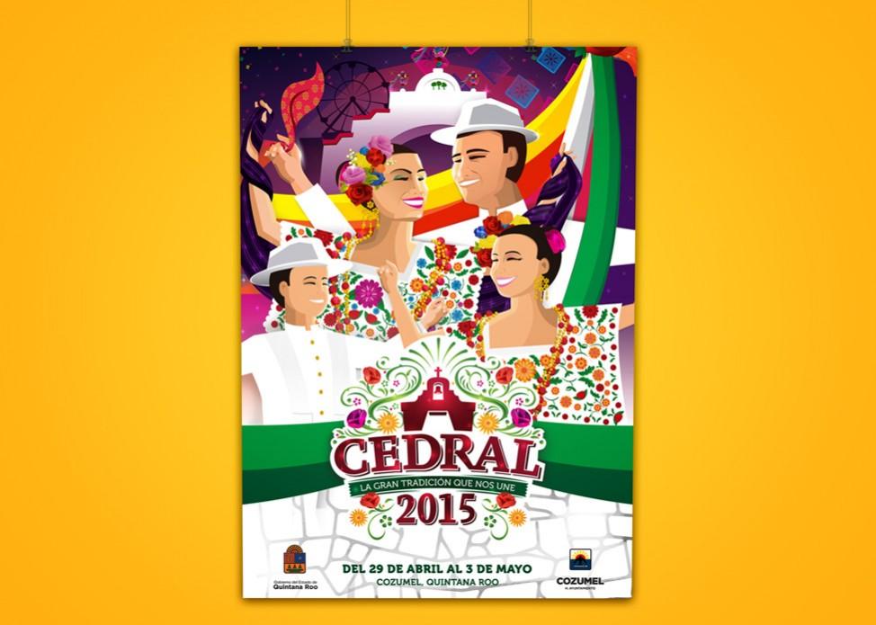 El Cedral 2015 - poster