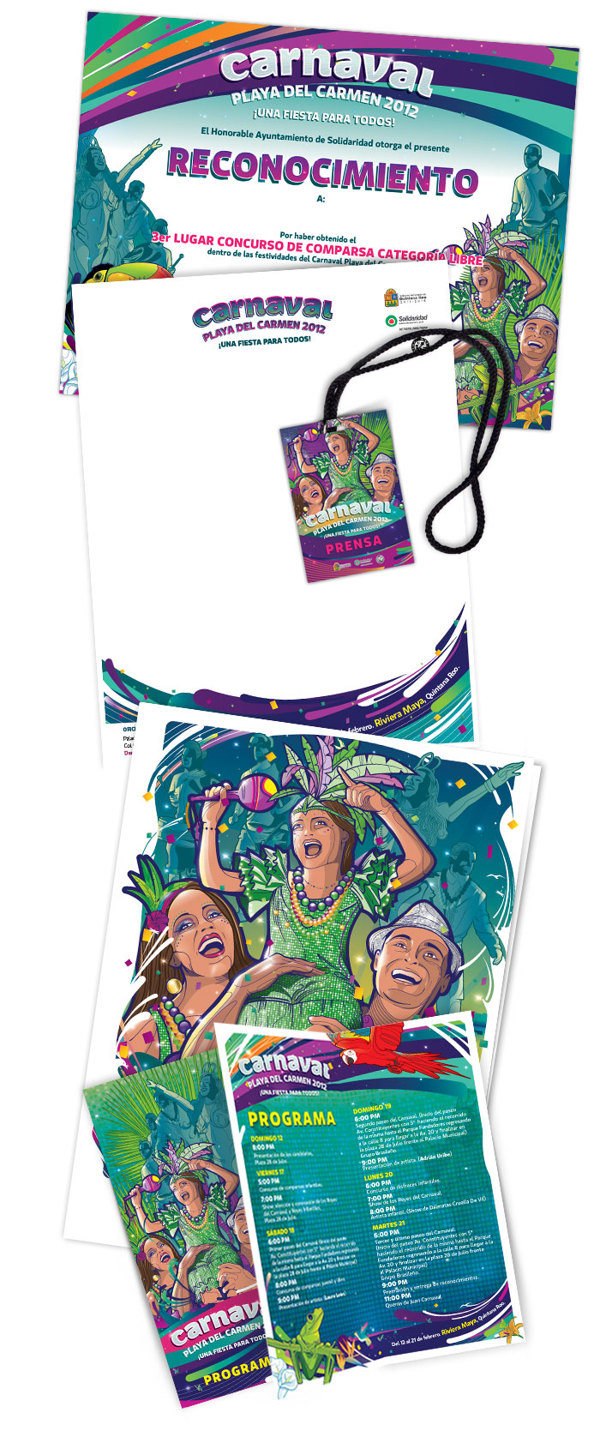 Carnaval 2012 Playa del Carmen - aplicaciones