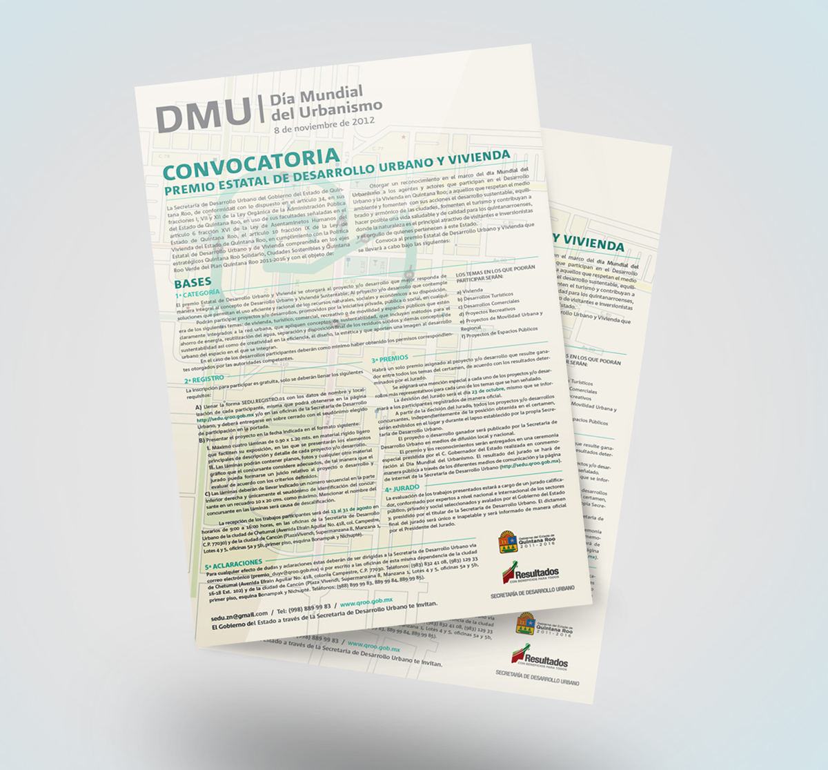 DMU - Convocatoria