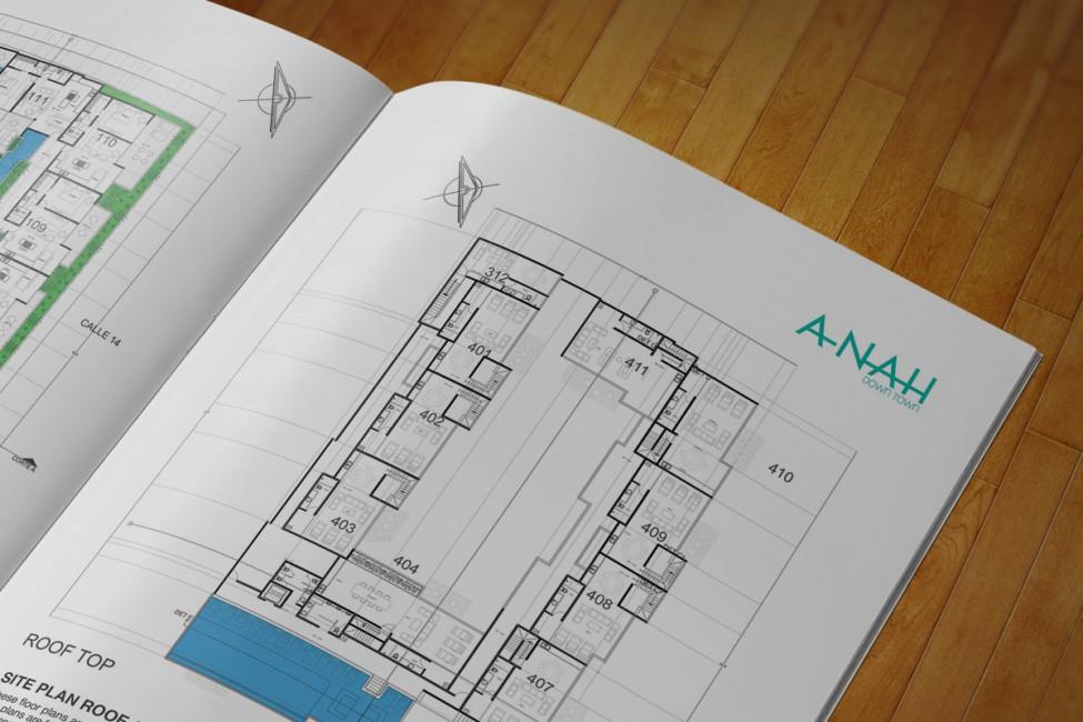 A-Nah Downtown - Brochure planos