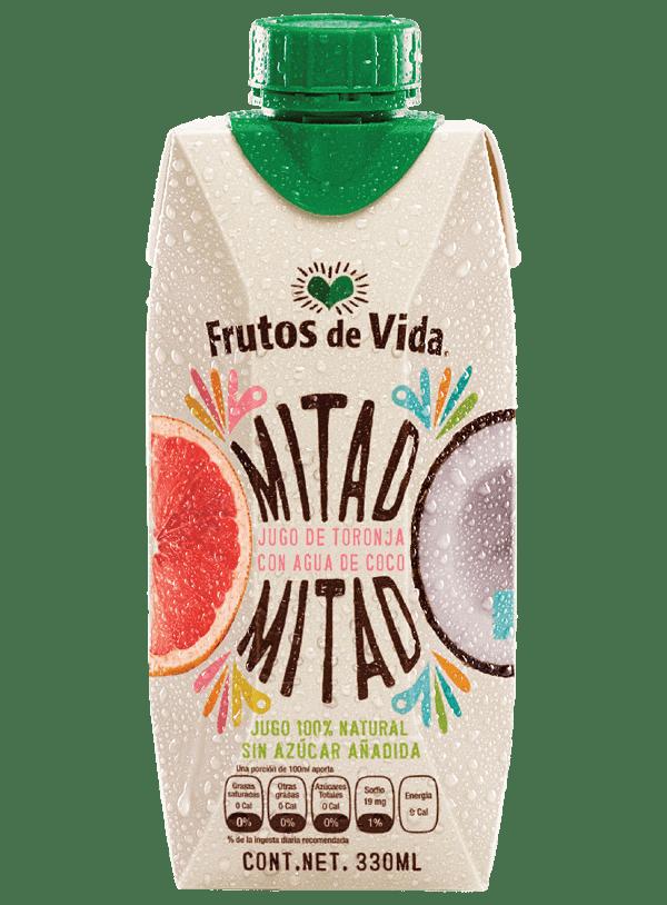 Jugo de Toronja y Agua de Coco