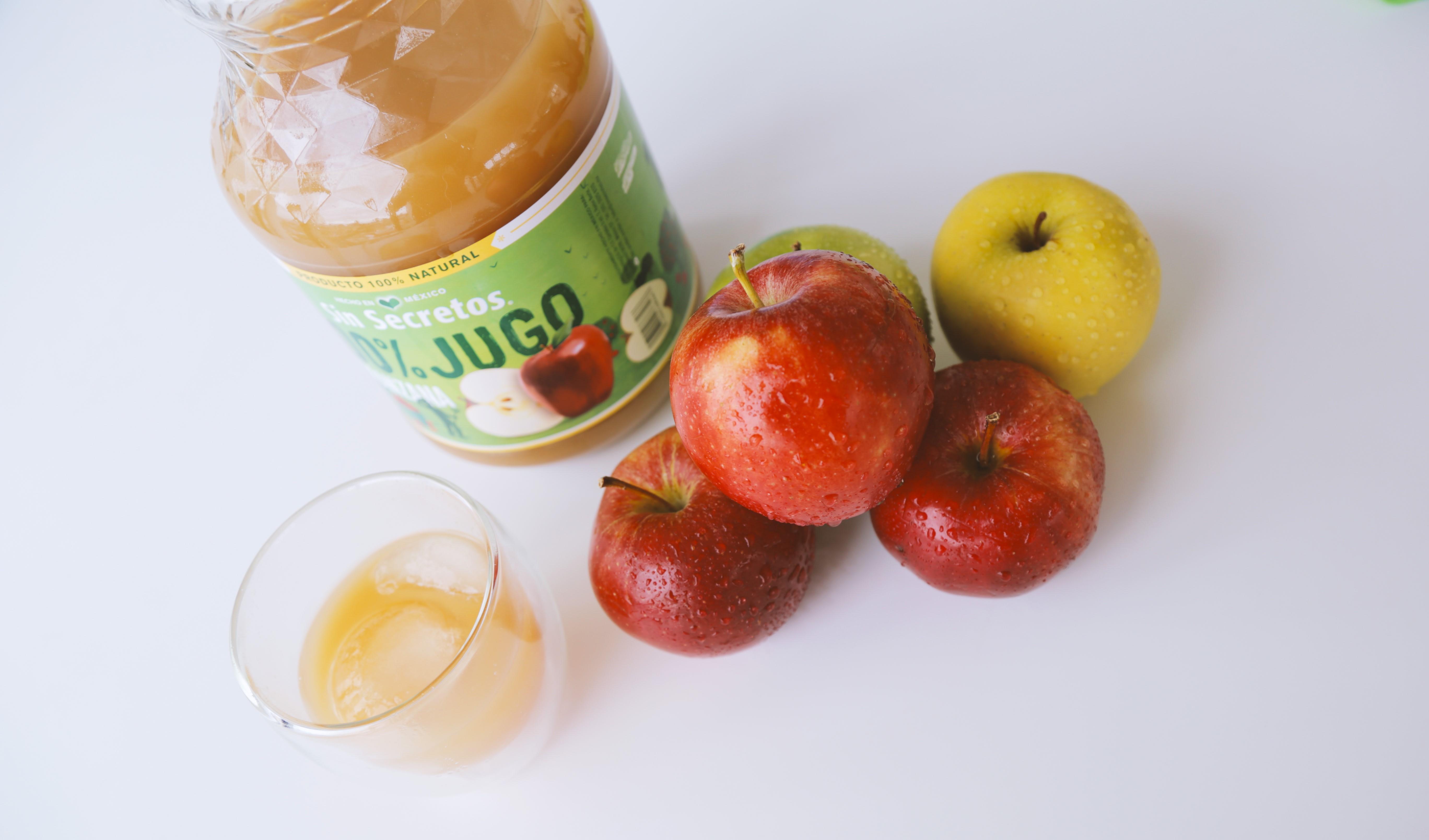 Jugo de manzana Frutos de vida