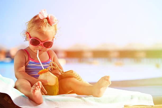 agua de coco para los bebés
