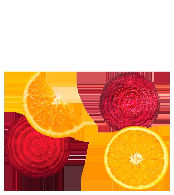 Betabel Naranja y Zanahoria