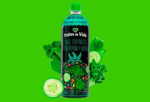 jugo verde kale espinaca