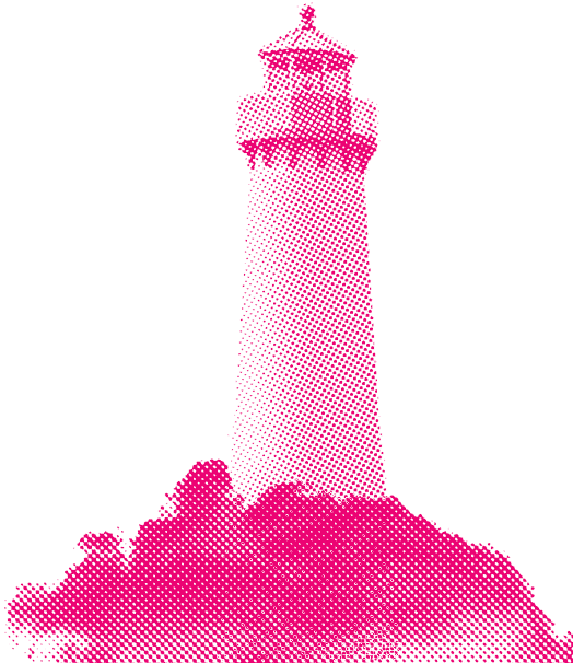 A lighthouse.