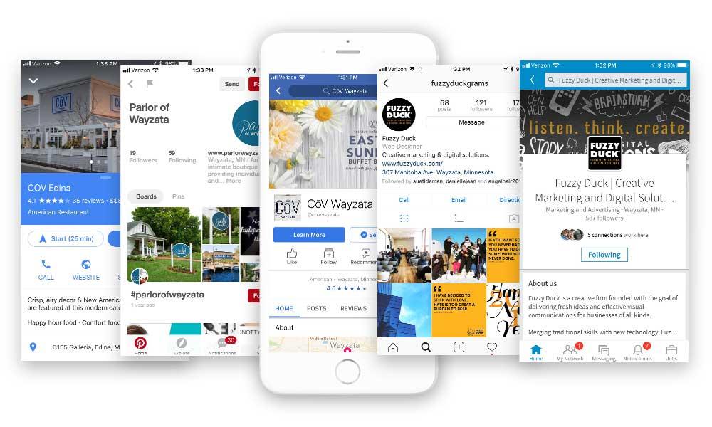 Social Media Digital Design