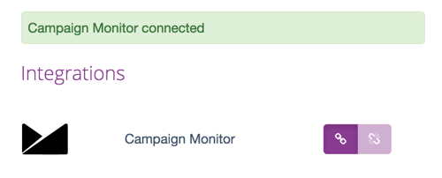 Campaign Monitor Fyrebox Authorisation