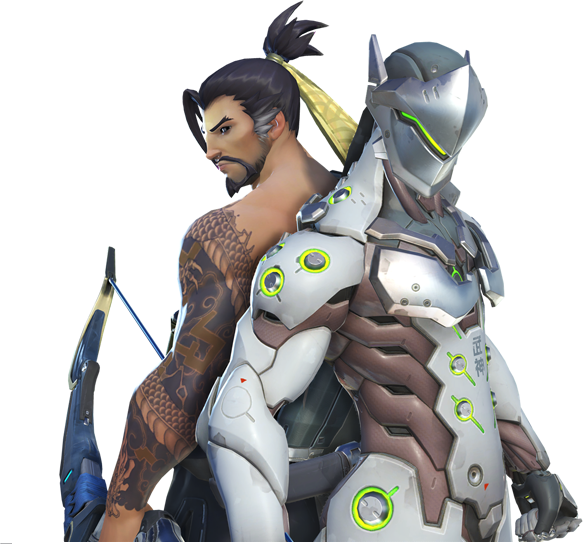 Hanzo and Genji