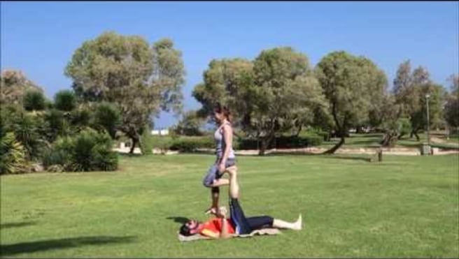 """""""F2H SPINNER""""- acroyoga by Amitmit & Inbar"""