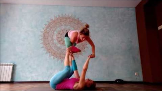 "Acroyoga. Washing Machine  ""Metamorphosis"""
