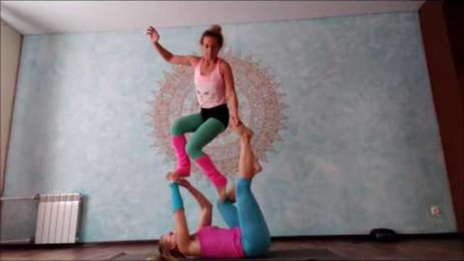 "Acroyoga. Washing Machine  ""Bindweed"""