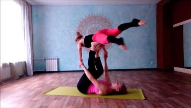 "Acroyoga Washing Machine ""Strong ninja"""