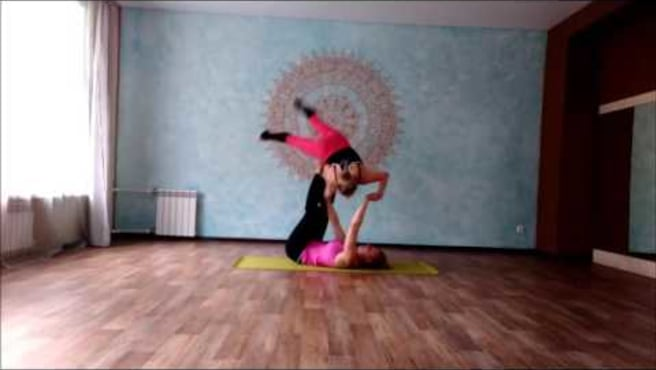 "Acroyoga Washing machine ""Snowflake"""