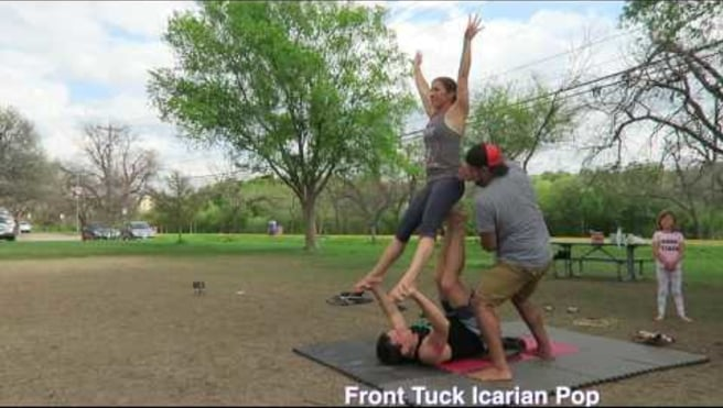Front Tuck Icarian Pop