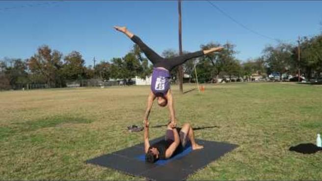 Cartwheel Into Handstand Sans Pop