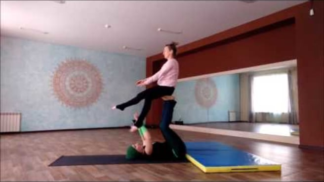Acroyoga. Washing machine. Whips )