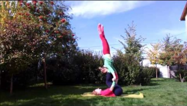 "Acroyoga Washing machine ""Teeter -Totter"""