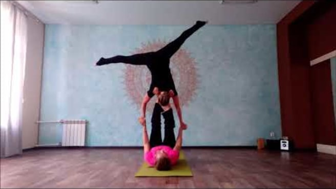 Acroyoga .Washing machine. Acro Flow