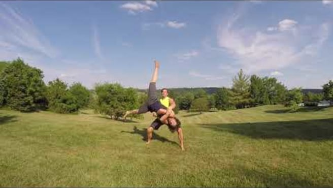 Partner Cartwheels