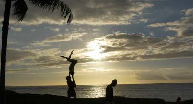 Chandra Sunset 7 Handstand