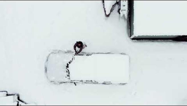 Snowed in Truck