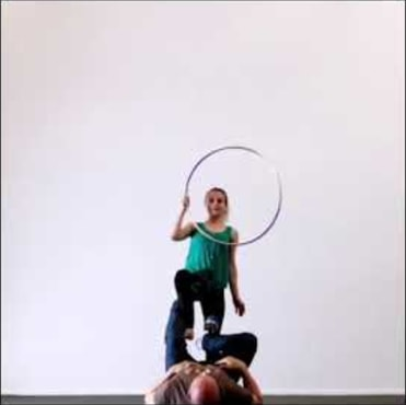 Hula hoop and Acro Yoga