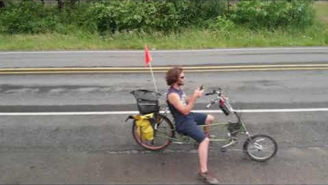 Drone Bike Ride