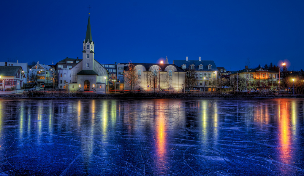Frozen Pond HDR