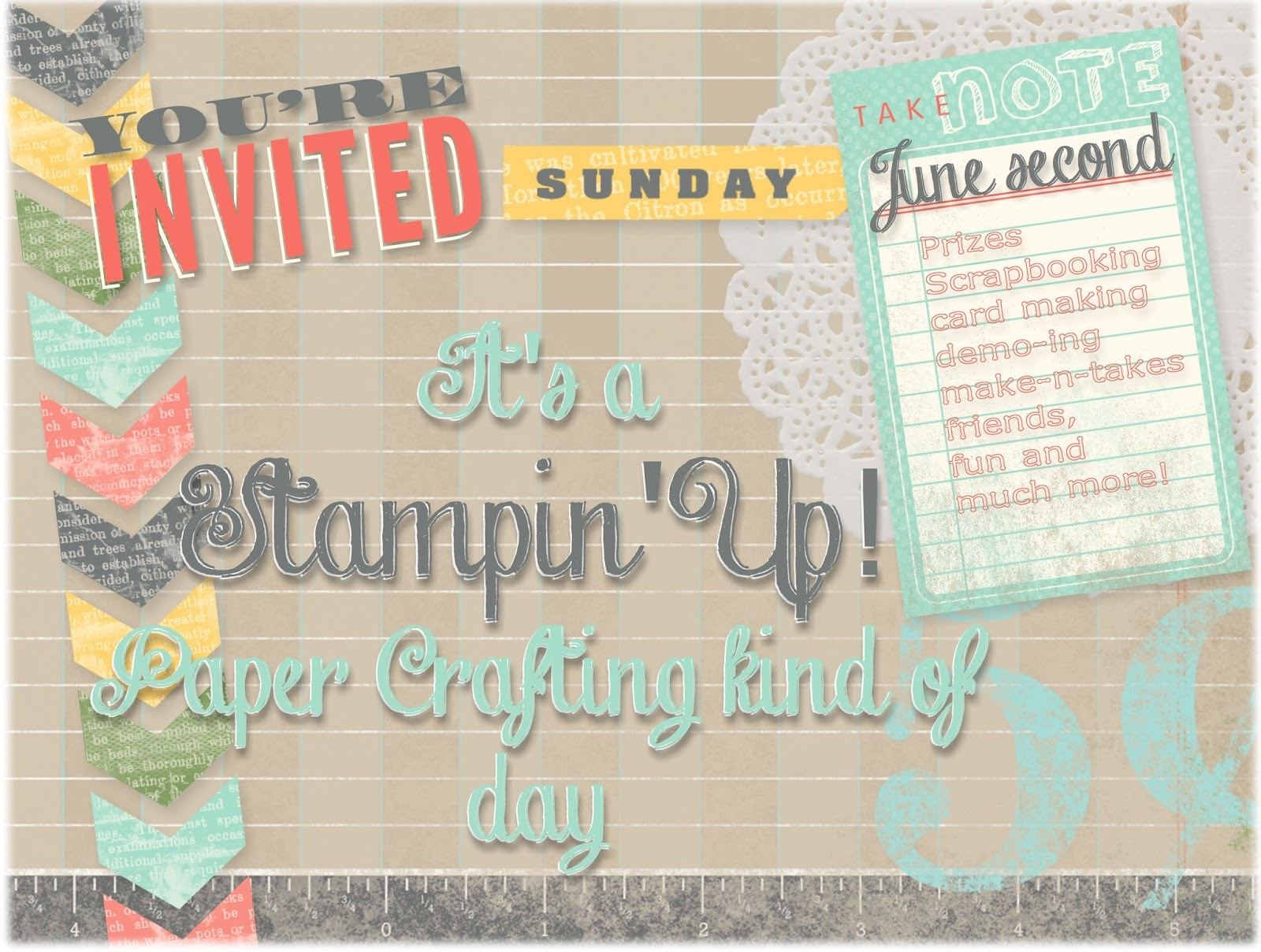 It's a Stampin' Up! Paper Crafting Kind of Day