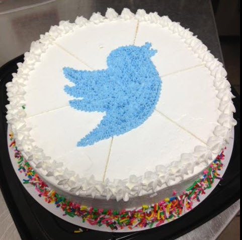 Cold Stone Creamery Twitter Cake