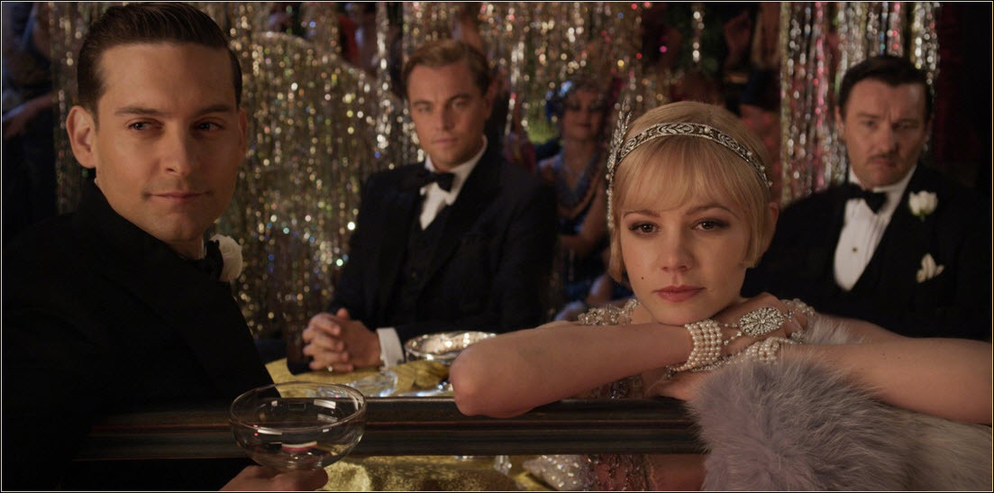 Fashion inspired by The Great Gatsby 2013 movie