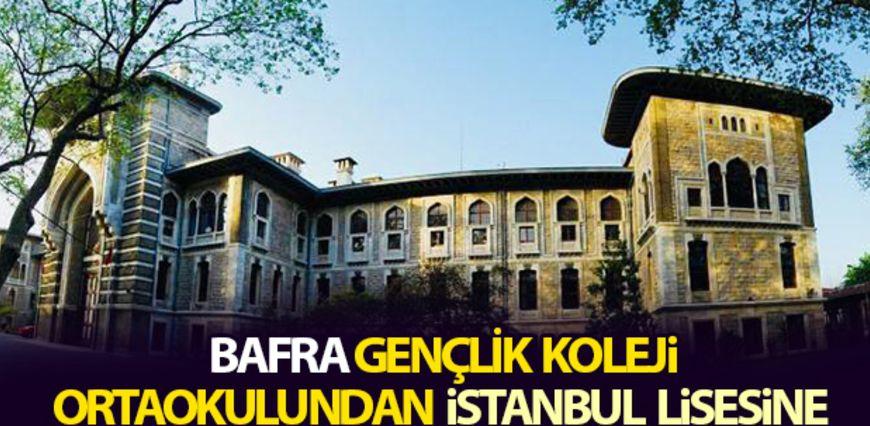 Okulumuzdan İstanbul Erkek Lisesine