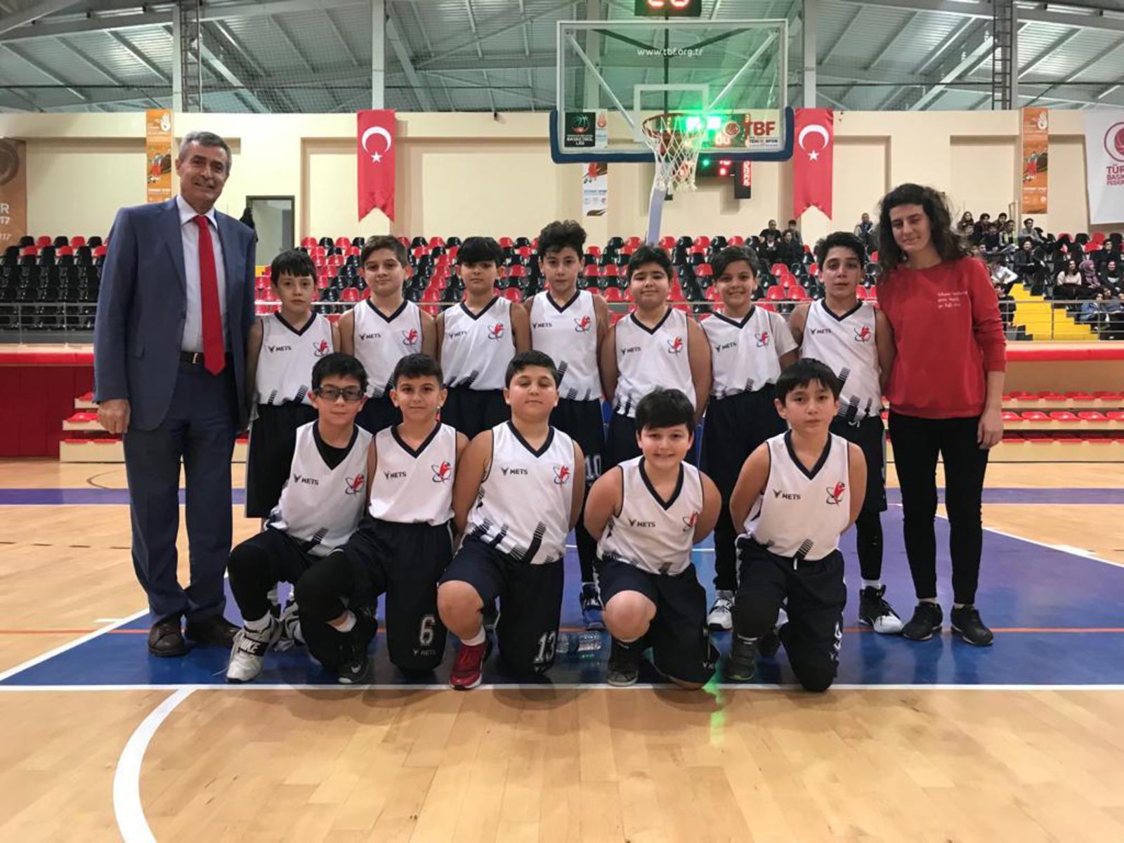 Basketbol Takımımız İlçe Şampiyonu
