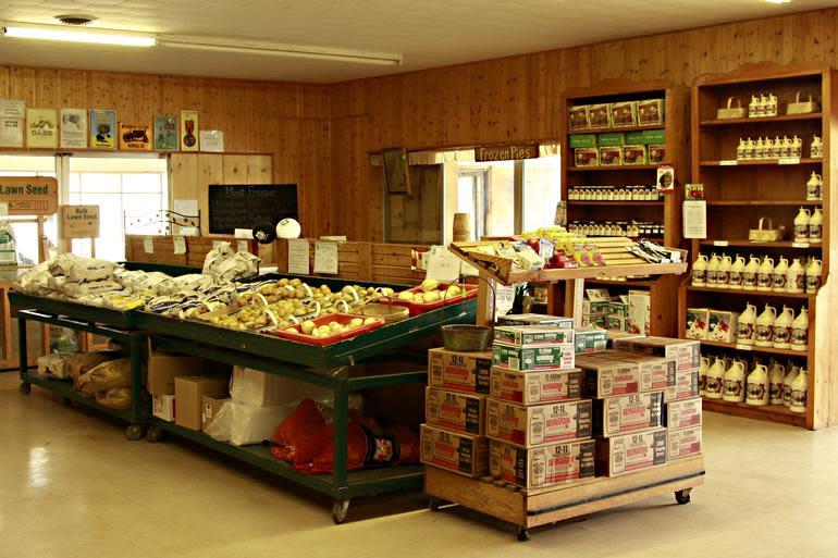 Zekveld's Garden Market - A partial view in the store.