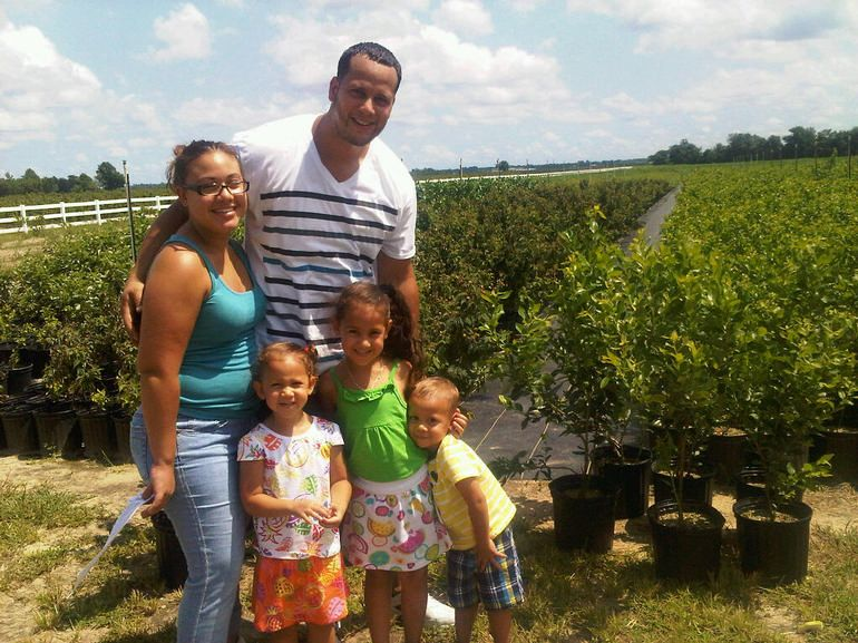 DiMeo Farms & Blueberry Plants Nursery - DiMeo Farms Review with some more of our happy DiMeo blueberry plants customers, this beautiful family, who drove hours just to buy buy blueberry bushes direct at our family blueberry farms in Hammonton, New Jersey. WE CAN SHIP BLUEBERRY PLANTS DIRECT TO YOUR DOOR, but we always welcome you to take ride out to pick-up your order. CALL: (609) 561-5905 to buy blueberry bushes from DiMeo Farms.