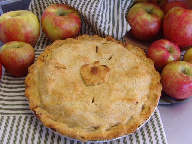 BelleWood Acres - Grandma's apple pie ready for you!