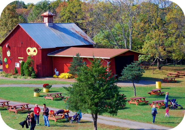 Ticonderoga Farms - Our beautiful Red Barn can be reserved for that special group party event!