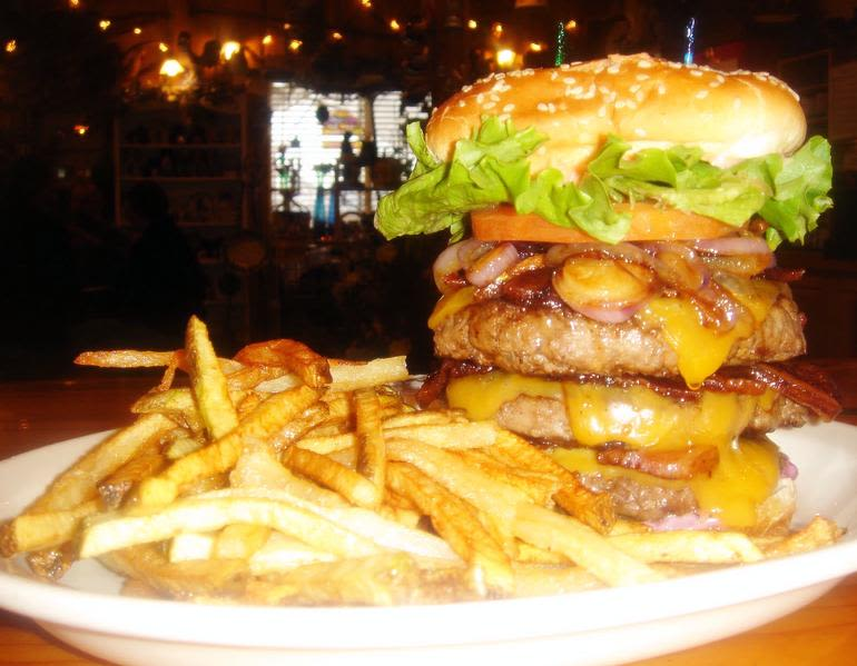 """Blueberry Hills Farms - Down-home scratch country cookin' servin' up huge portions at family friendly prices. Check out our """"Real Man Burger"""". :)"""