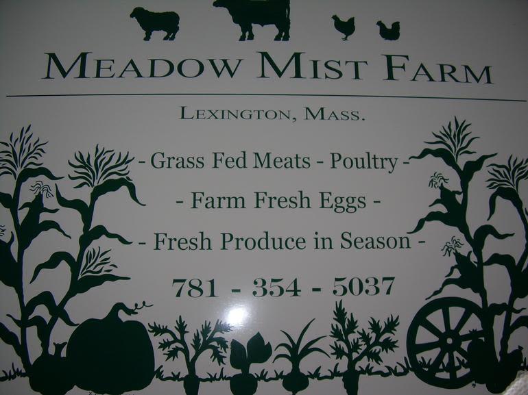 Meadow Mist Farm - Meadow Mist Farm Sign