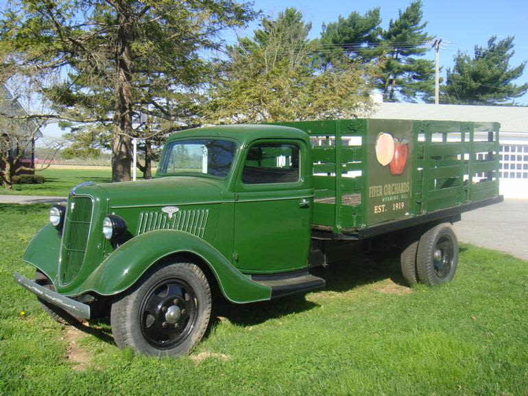 Fifer Orchards Farm and Country Store - 1935 Farm truck