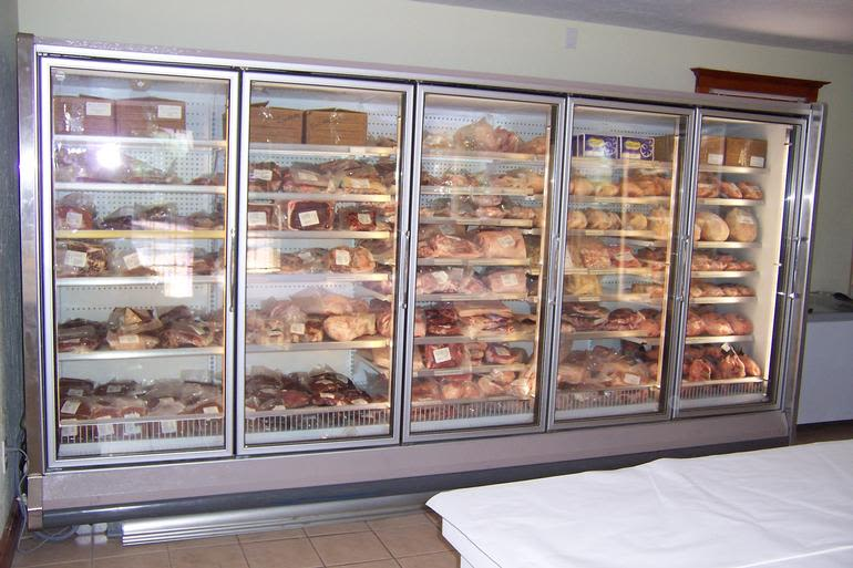 Lake Meadow Naturals, LLC - Farm Store Freezer