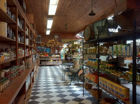 Old Hook Farm - Inside our store