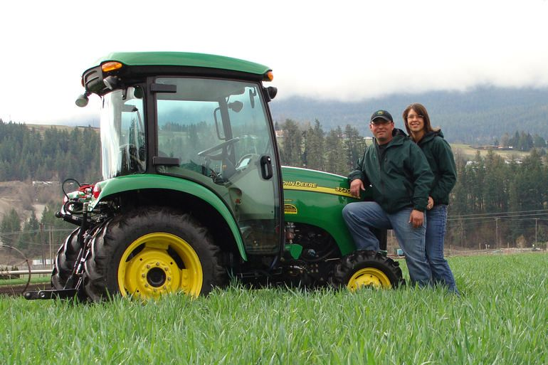 Zelaney Farms - Brian and Rachelle of Zelaney Farms... meet your farmers!