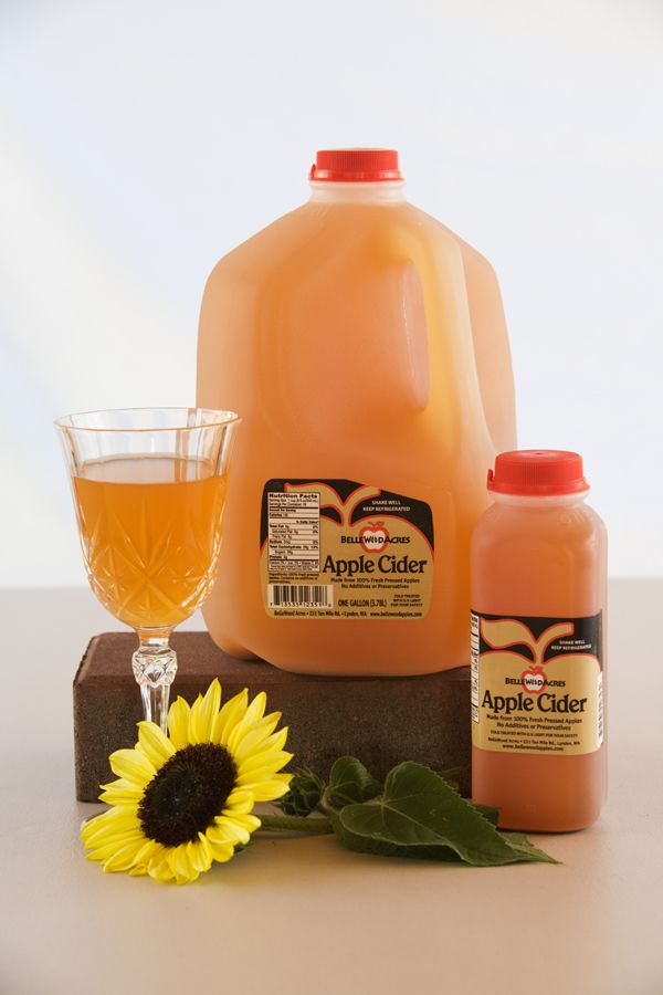 BelleWood Acres - Cider is the taste of Fall!