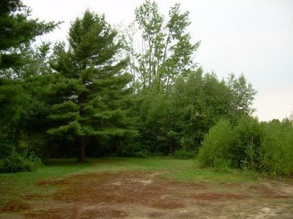 Triple Trouble Farm  - The parking area.